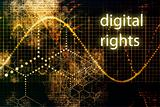 Digital Rights Abstract Technology