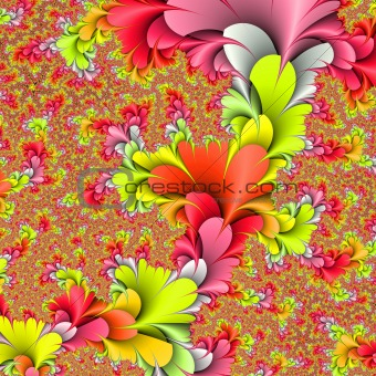 Flower background. 