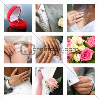 Nuptial collage