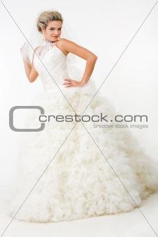 Luxurious newlywed