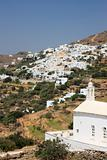 Tinos Island Village and Church