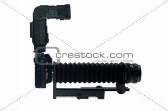 camera with macro attachment