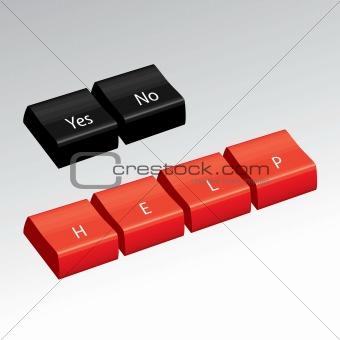 3D Computer Keys