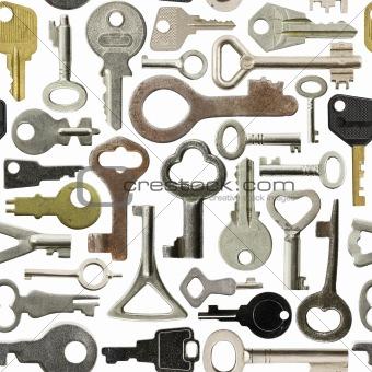 Old keys pattern