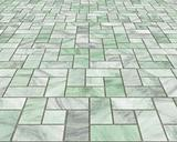 marble pavers or tiles