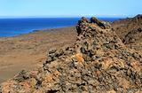 Volcanic rock outcrop