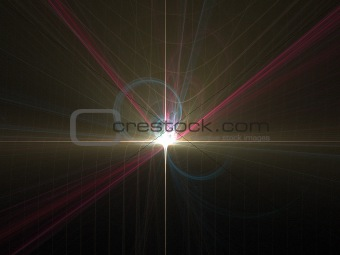 Abstract background. Flash.