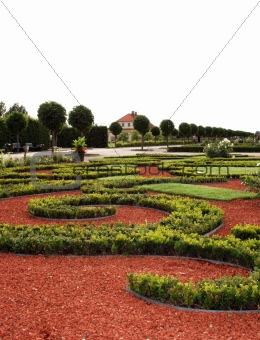 Castle garden Rundale