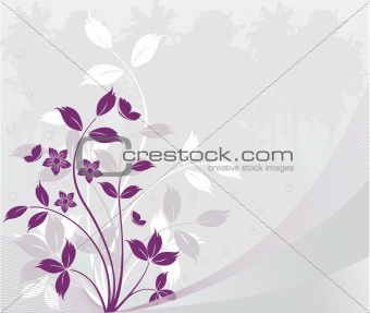 Floralt  vector background