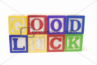 Alphabets - Good Luck