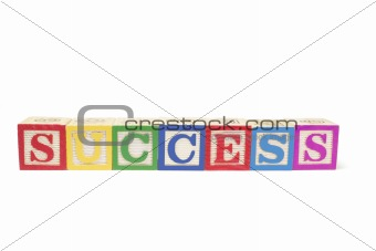 Alphabet Blocks - Success
