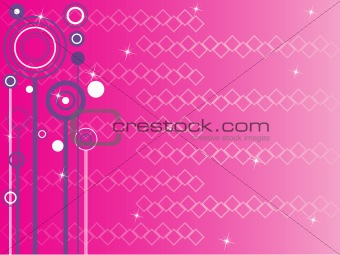 abstract pink background, illustration