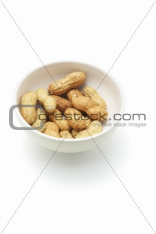 Groundnuts in Bowl