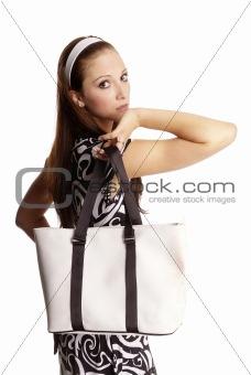 Frau mit Tasche | woman with bag