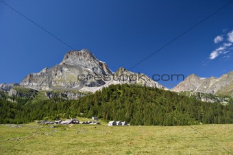 """Leone"" mount and Alpe Veglia"