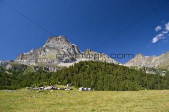 """""""Leone"""" mount and Alpe Veglia"""