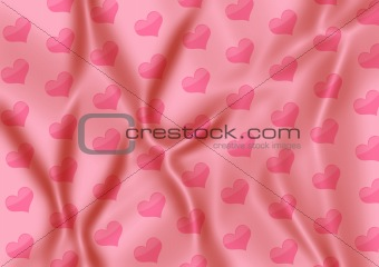 Abstract background - soft silk fabrics