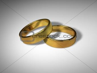 3D Wedding Rings