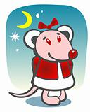 christmas mousy