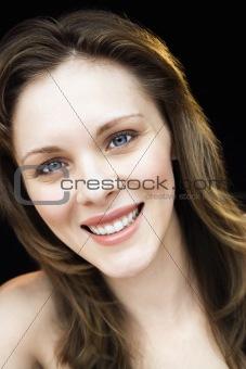 Portrait of pretty woman.