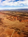 Rural Utah desert landscape.