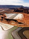 Tailings pond in rural Utah.
