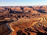 River in Canyonlands National Park, Utah.