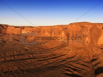 Beautiful Monument Valley mesas.