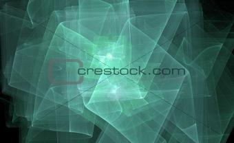 glowing fractal