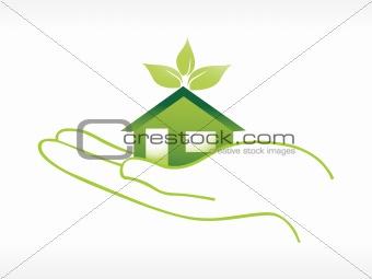 green gouse on hand, wallpaper
