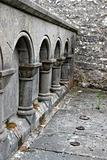 Ancient arched wall, Ireland