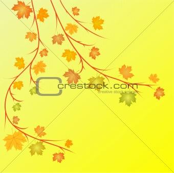 autumn vector illustration