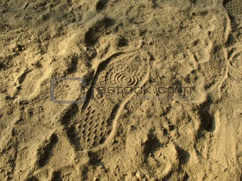 Footwear trace