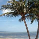 Key West beaches in Florida, USA
