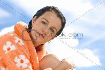 chamomile woman
