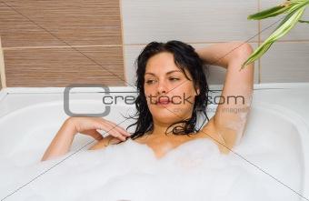 Bath-foam
