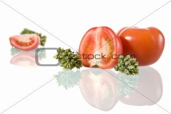 Tomato and Oregano