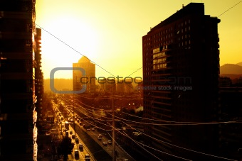 Santiago Sunset