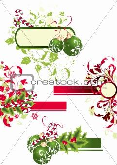 Christmas theme.