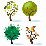 Various Tree Designs