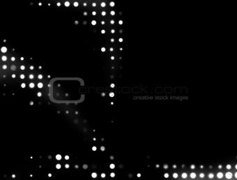 Abstact Halftone Dots