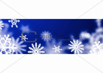 blue band snowflake