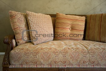 Close up on a Couch