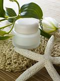 Sea-star and moisturizing lotion
