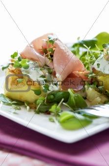 Beautiful potato dish