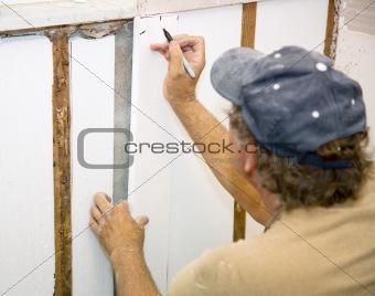 Contractor Installs Foam Insulation