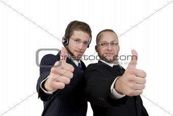 successful business partners