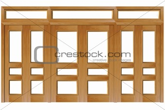 Close doors