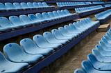 empty stadim seats