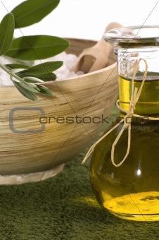 olive bath items